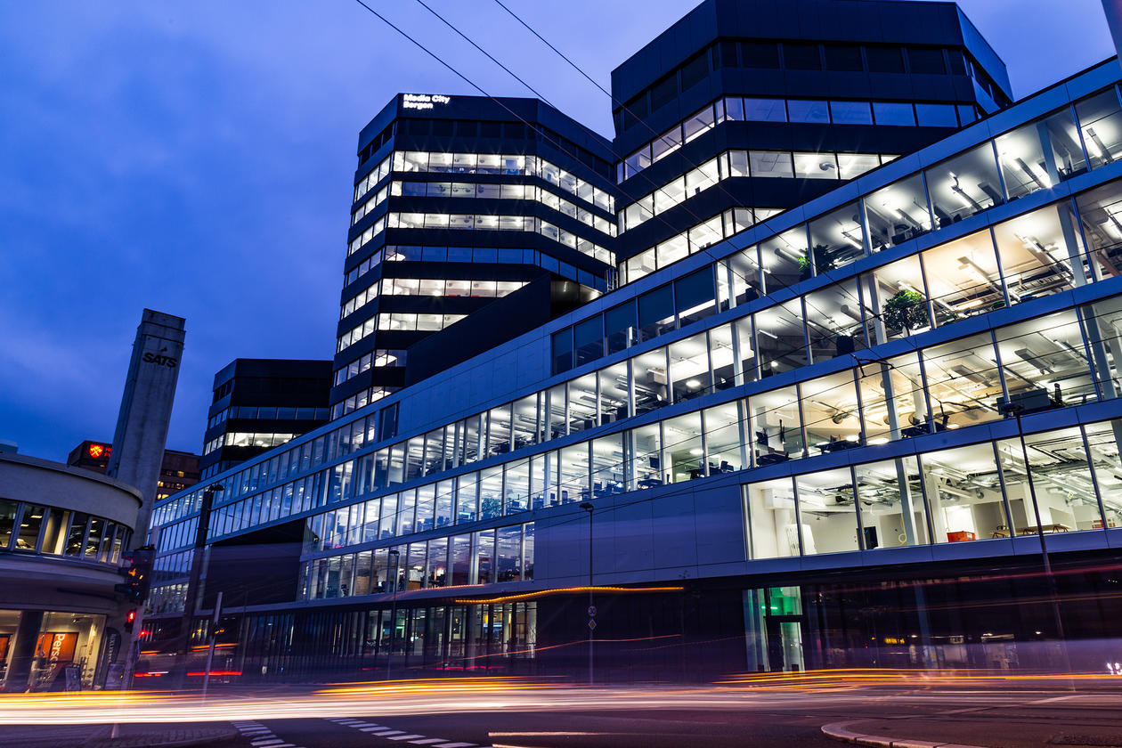 Media City Bergen building