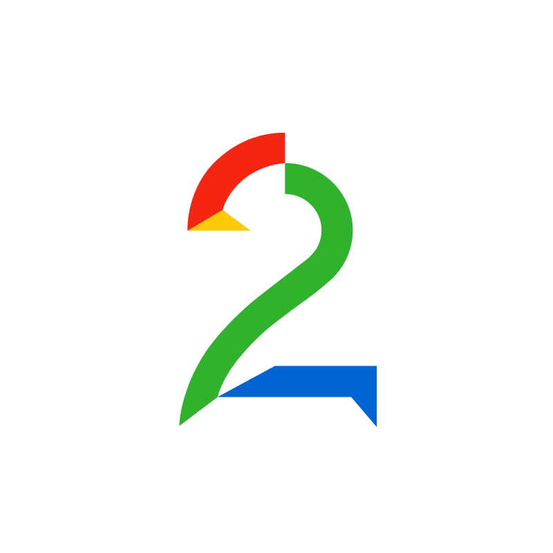 Logo of TV 2 AS
