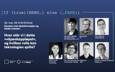 Online conference 25 May: The fight against desinformation and fake news